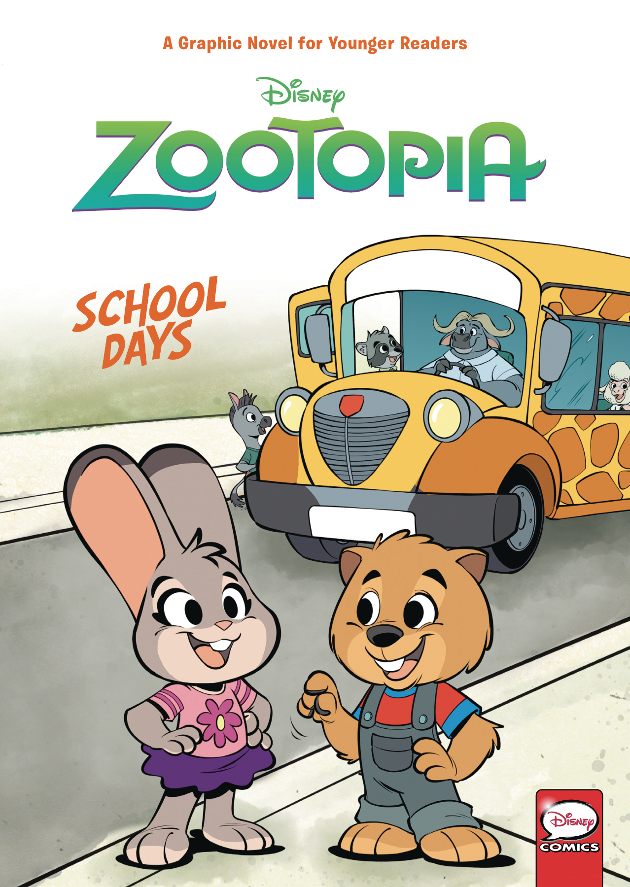 DISNEY ZOOTOPIA SCHOOL DAYS (YA) HC VOL 01 (JUN190369)